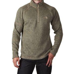 Men's Northface Gordon Lyons 1/4 zip sweatshirt